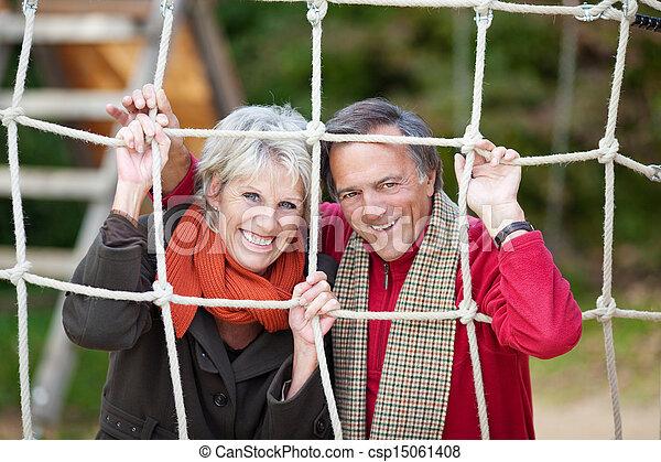 Happy senior couple - csp15061408