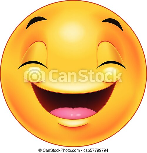 Happy smiley emoticon face - csp57799794