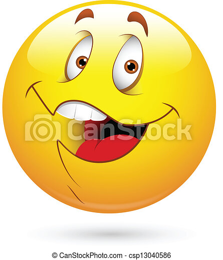 Happy Smiley Face - csp13040586