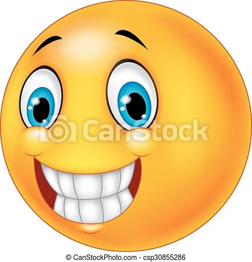 Happy smiley face - csp30855286