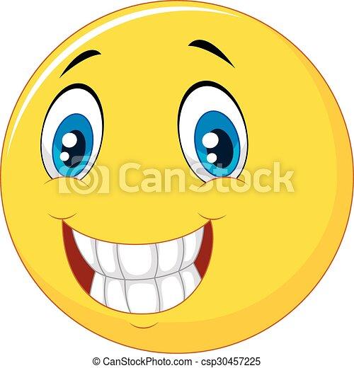 Happy smiley face - csp30457225