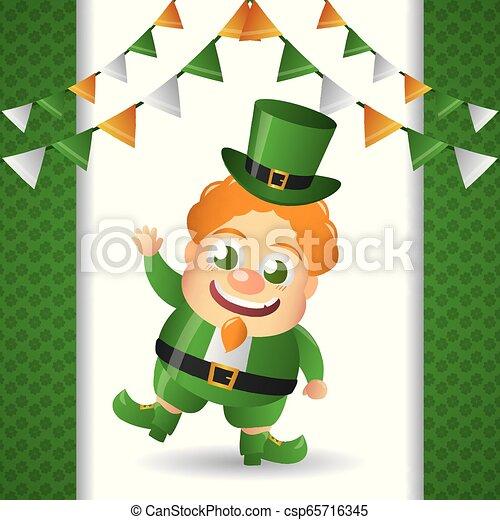 happy st patricks day - csp65716345