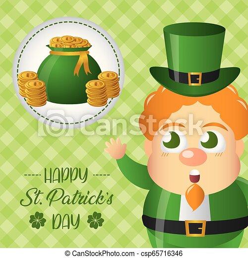 happy st patricks day - csp65716346