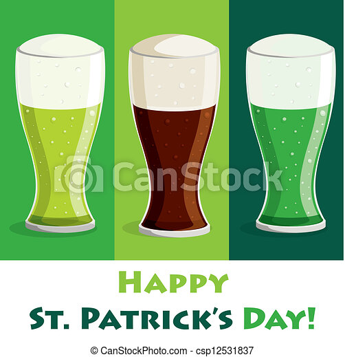 Happy St. Patrick's Day - csp12531837
