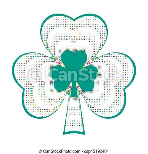 Happy St. Patricks day - csp45192401