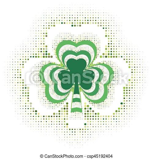 Happy St. Patricks day - csp45192404