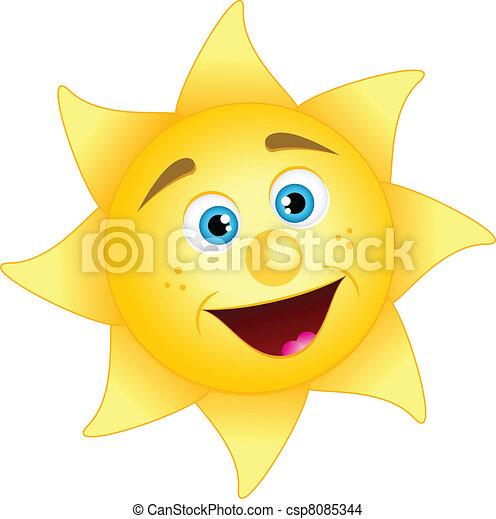 happy sun - csp8085344