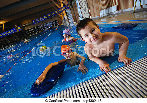 .happy swimmers - csp4302115
