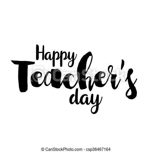 Happy teachers day vector typography lettering design for greeting happy teachers day vector typography lettering design for greeting card logo stamp or banner m4hsunfo
