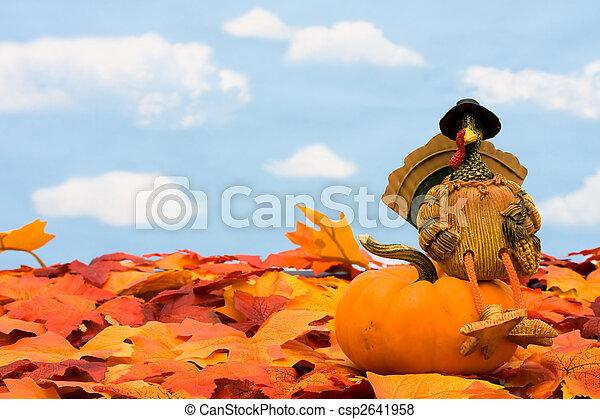 Happy Thanksgiving - csp2641958