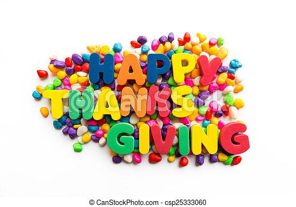 happy thanksgiving - csp25333060