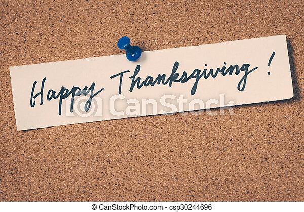 happy thanksgiving - csp30244696