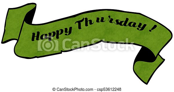 happy thursday illustrations and stock art 446 happy thursday rh canstockphoto com happy thursday clip art images happy thursday clip art images