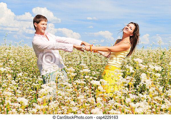 Happy together - csp4229163