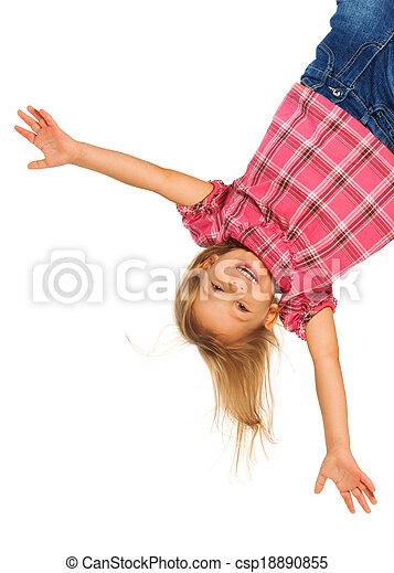Happy upside down - csp18890855