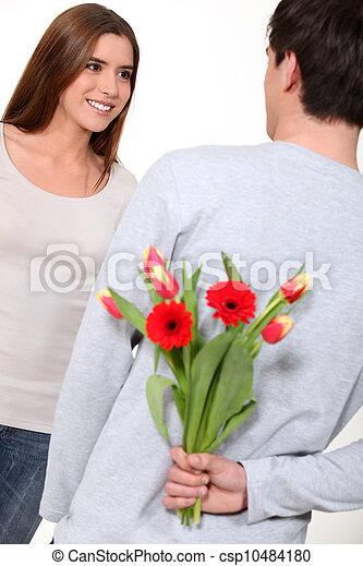 Happy valentine day honey. - csp10484180