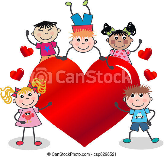 happy valentine - csp8298521