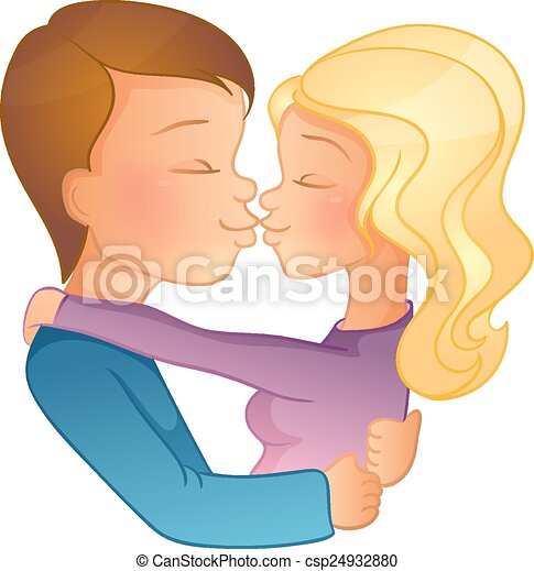 Happy Valentine's day, couple image - csp24932880