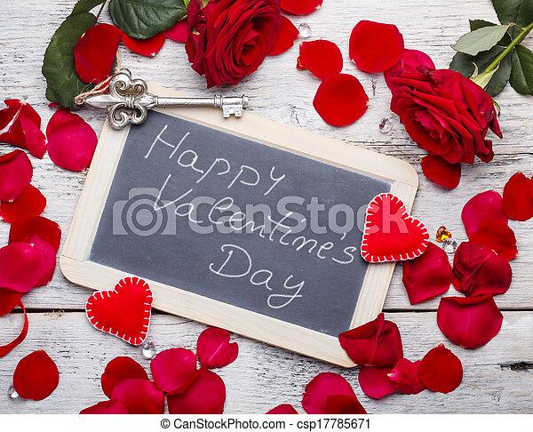 Happy Valentine's Day - csp17785671