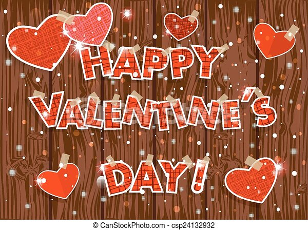 Happy Valentine S Day Red Hearts Photo Frames And Text I Love You