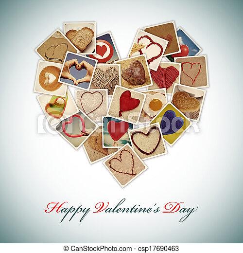 happy valentines day - csp17690463