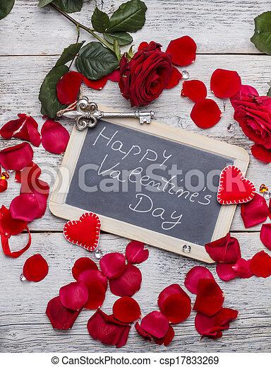 Happy Valentine's day - csp17833269