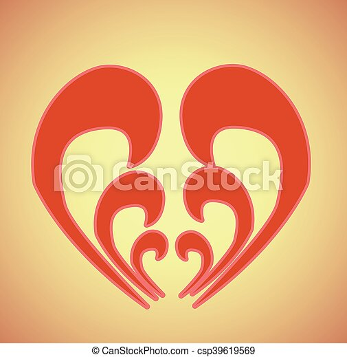happy valentines day - csp39619569