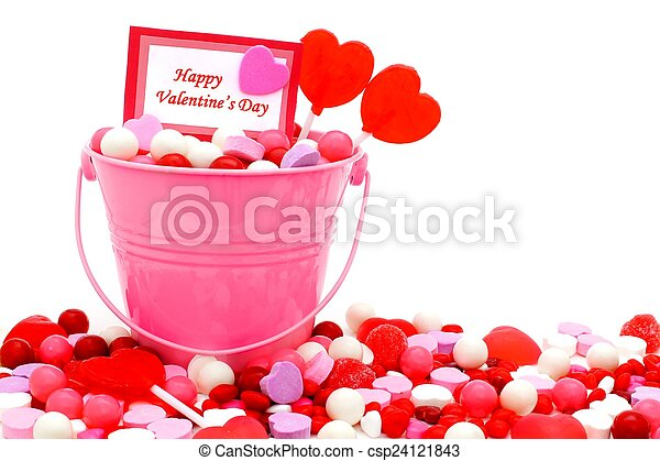 Happy Valentines Day - csp24121843