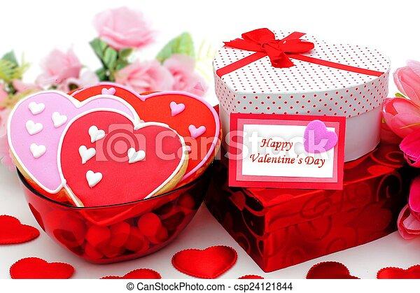 Happy Valentines Day - csp24121844