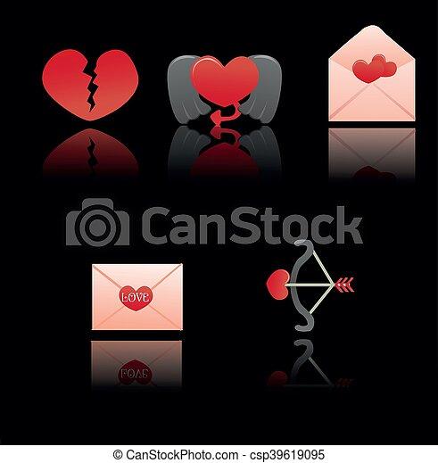happy valentines day - csp39619095