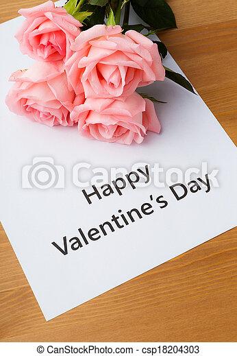 Happy Valentines day - csp18204303