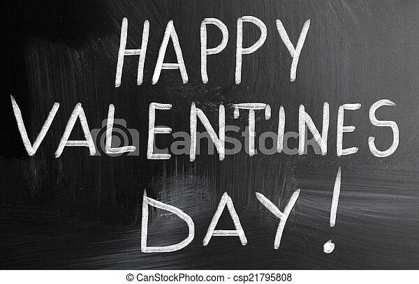 happy valentines day! - csp21795808