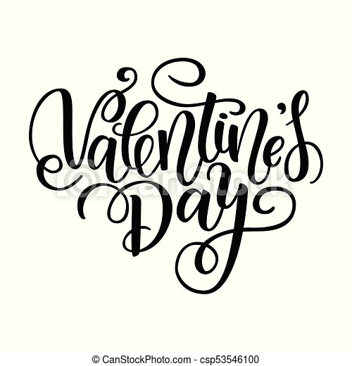 Happy Valentine S Day Vector Card Greeting Card To Day Of Saint