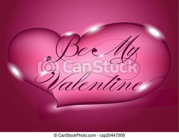 Happy Valentine's Day - csp20447008