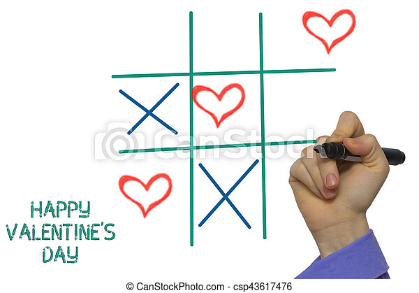 Happy Valentine S Day Xoxo Tick Tack Toe Happy Valentines Day Tic