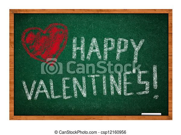 Happy valentines's day - csp12160956