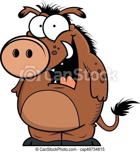 Happy Warthog - csp49734815