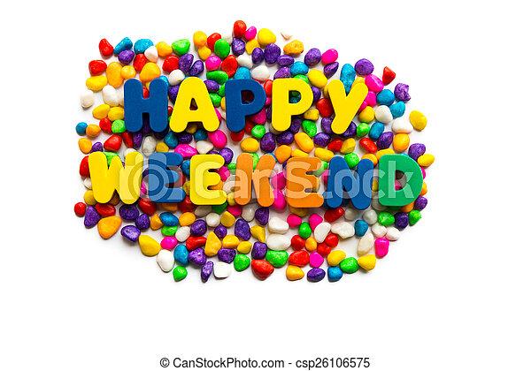 happy weekend - csp26106575