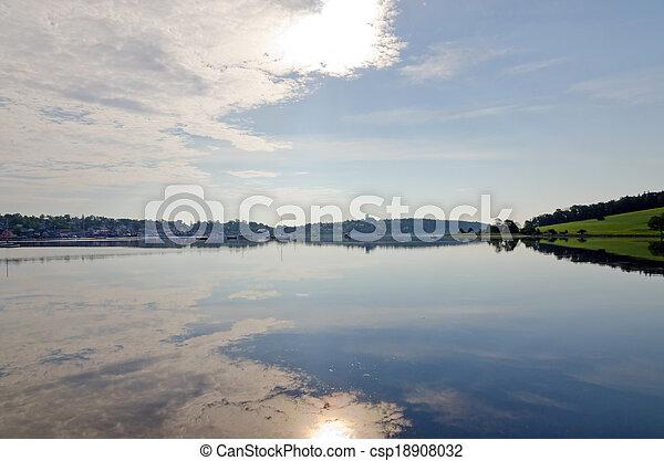 Harbor of Lunenburg - csp18908032
