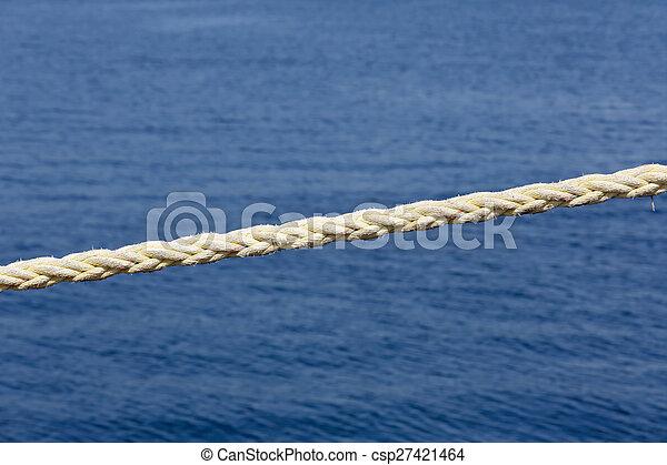 harbor rope - csp27421464