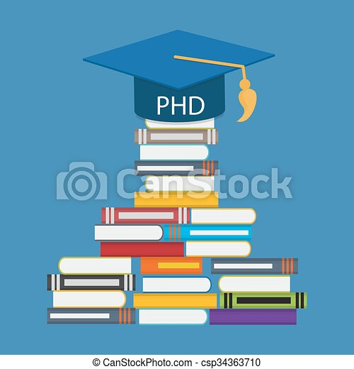 Hard and Long Way to the Doctor of Philosophy Degree PHD - csp34363710