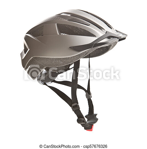 Hard bicycle helmet. - csp57676326
