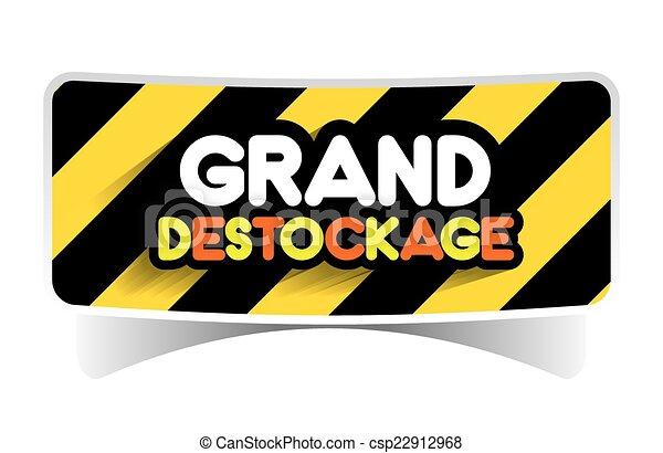 Hard Discount Big Sale - csp22912968