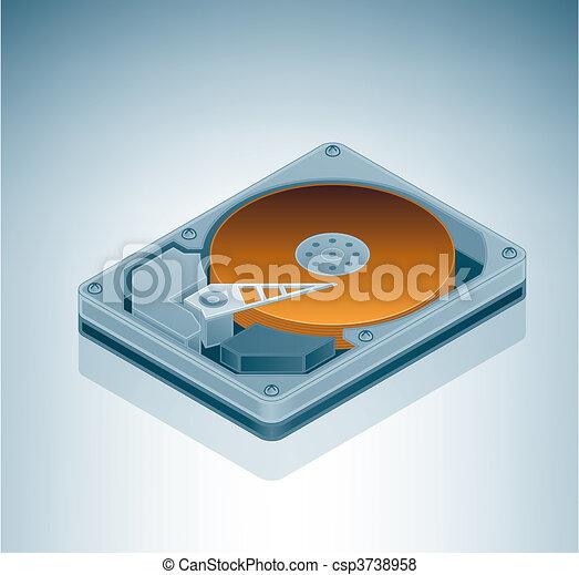 Hard Disk Drive - csp3738958