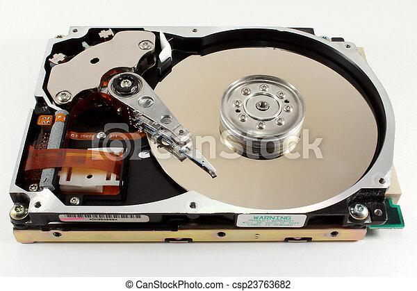 Hard drive - csp23763682