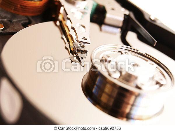 Hard drive. - csp9692756