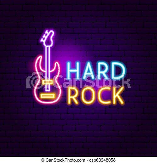 Hard Rock Neon Sign