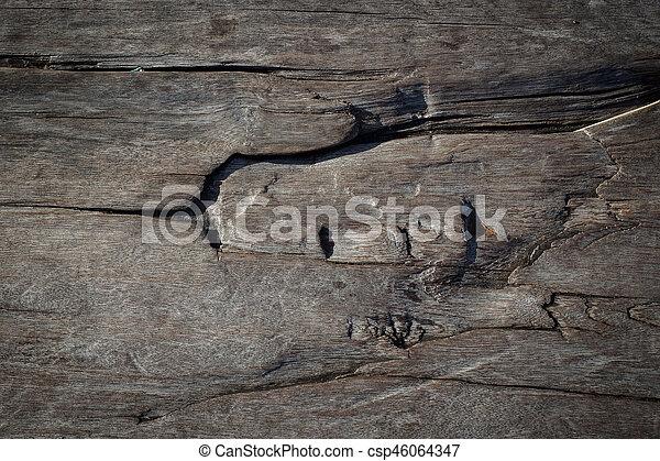 hard wood texture background - csp46064347