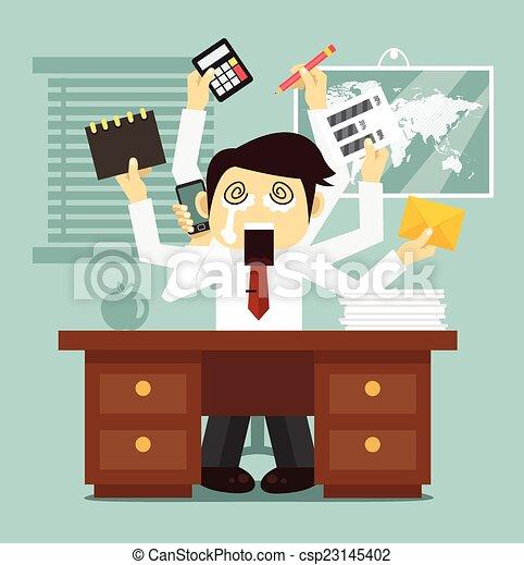 Hard work - csp23145402