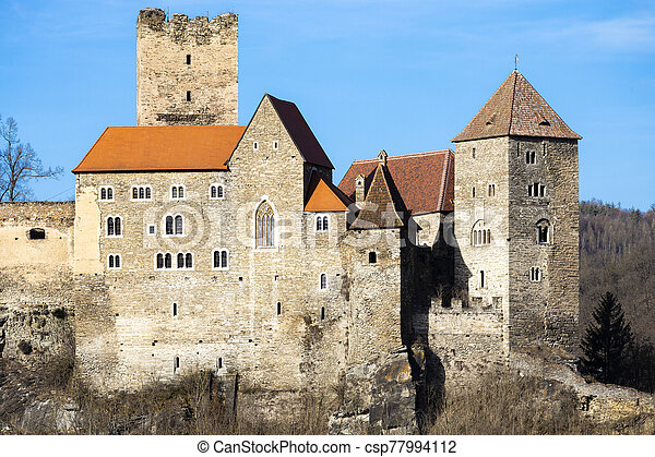 Hardegg castle in north Austria - csp77994112